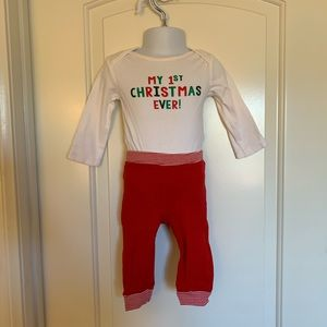 Carters my 1st Christmas outfit